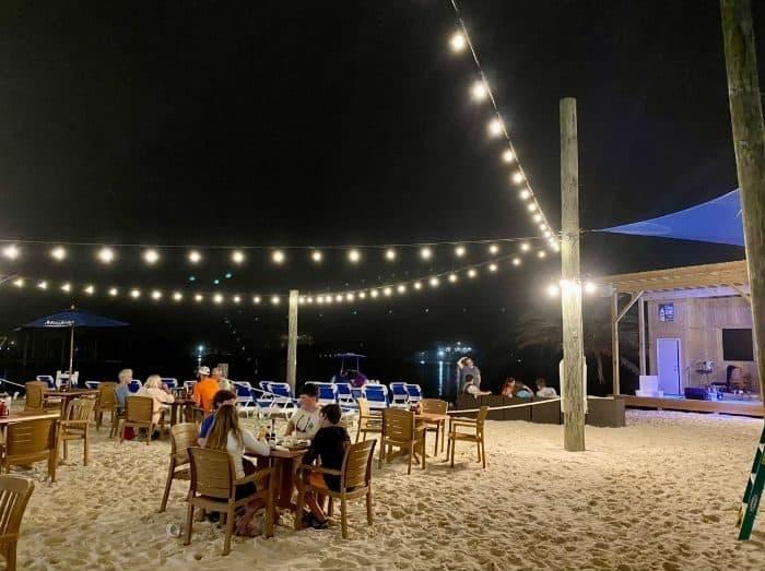 Flora-Bama Yacht Club at night