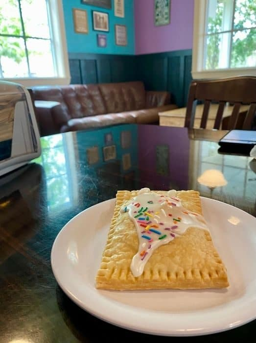 Home-made PopTart at BuzzCatz Coffee & Sweets in Orange Beach