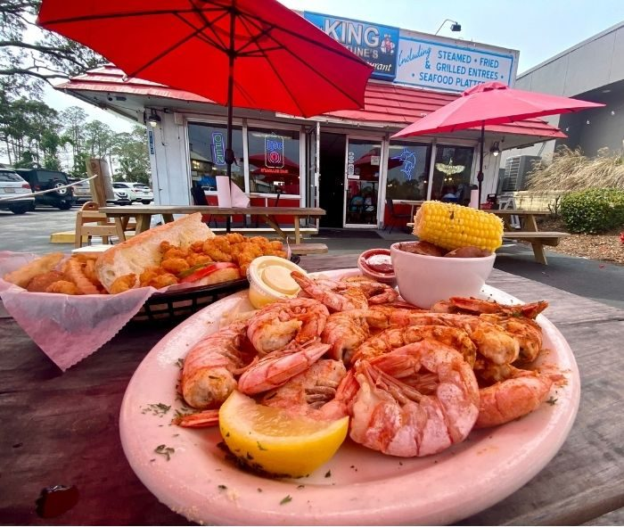 King Neptune's Seafood Restaurant in Gulf Shores