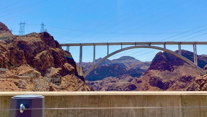 Mike O'Callaghan–Pat Tillman Memorial Bridge in Nevada