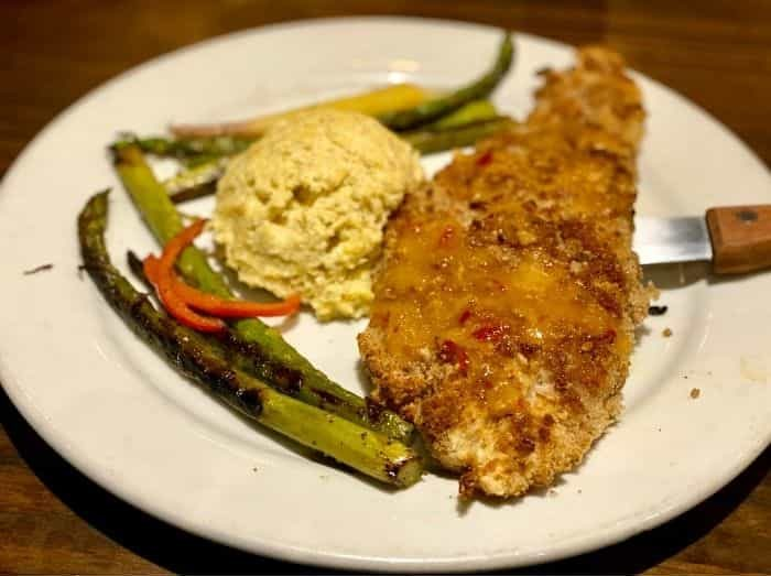 Pecan-crusted Redfish at Fresh off the Boat in Orange Beach