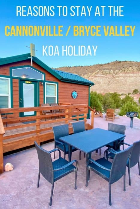 Reasons to Stay at the Cannonville/Bryce Valley KOA Holiday