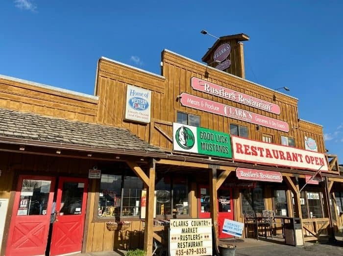 Rustlers Restaurant Tropic Utah