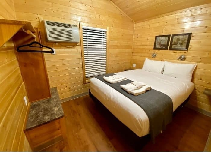 additional bedroom for the deluxe cabin