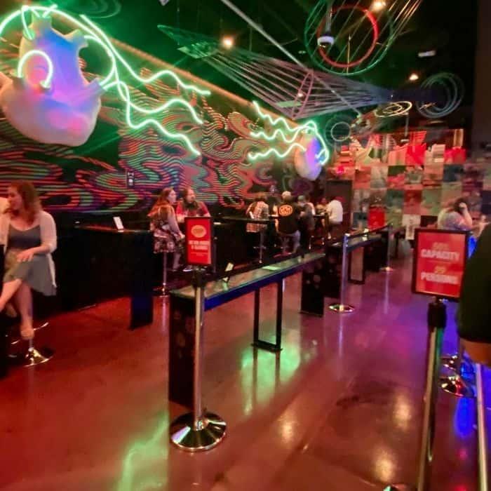 bar at Omega Mart