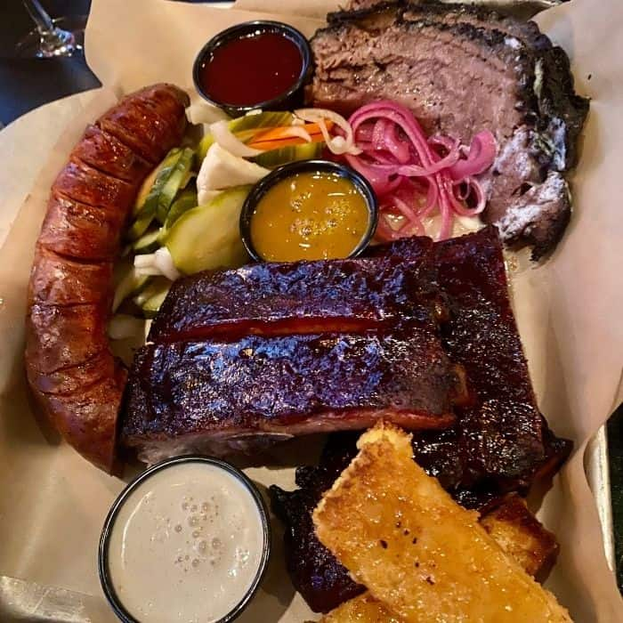 bbq at The Beast by Todd English Restaurant  in Las Vegas