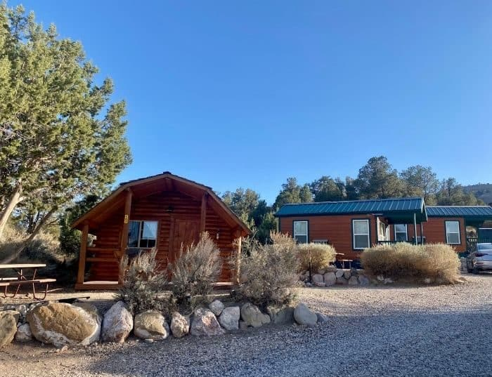 cabins at Cannonville Bryce Canyon KOA Holiday