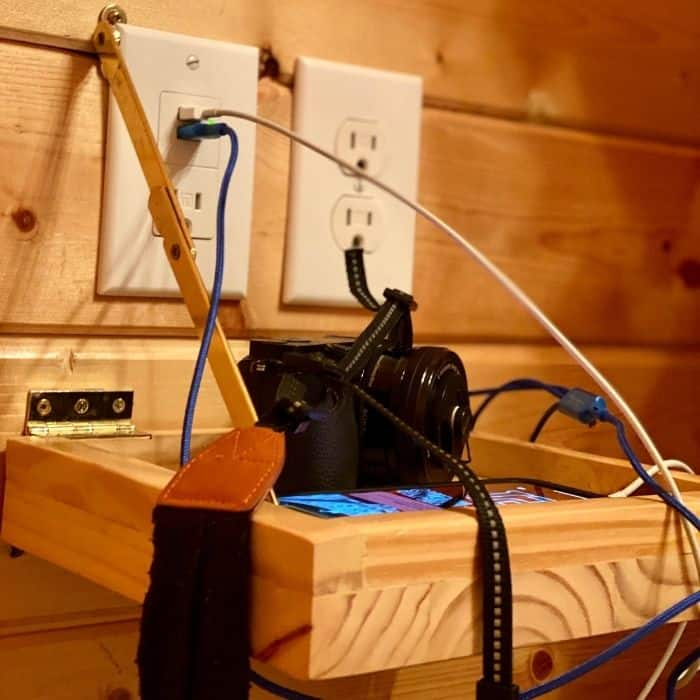 charging station at Cannonville Bryce Canyon KOA