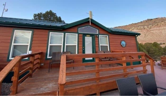 deluxe KOA cabin