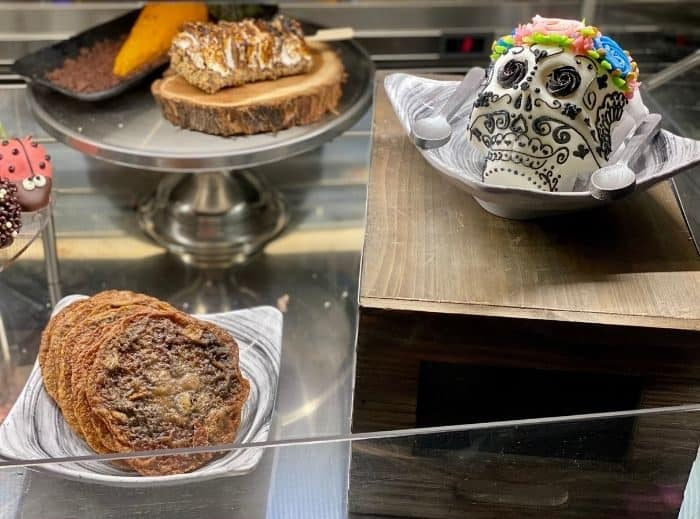 desserts at The Beast by Todd English Restaurant in Las Vegas