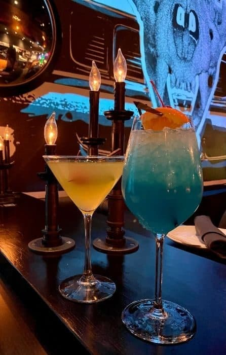 drinks at The Beast by Todd English Restaurant in Las Vegas