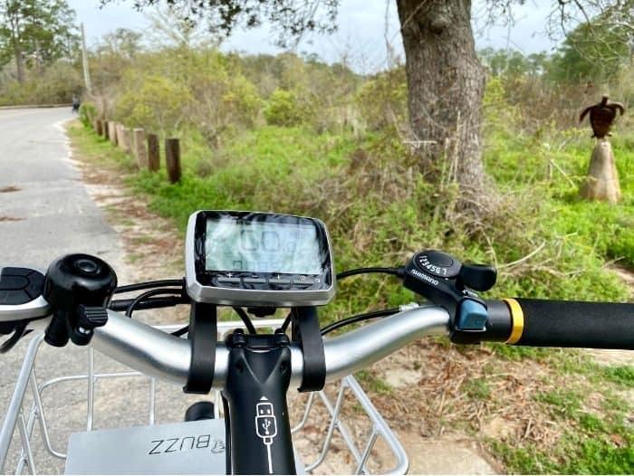 electric bike ride on scenic ride