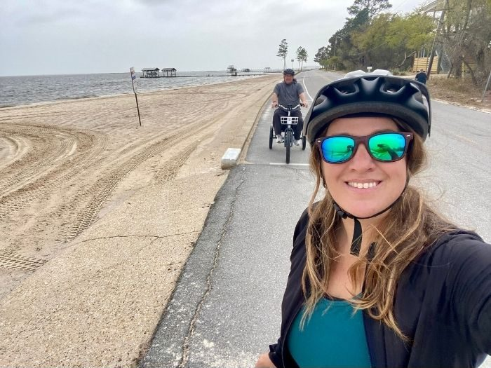 electric bike ride to the beach