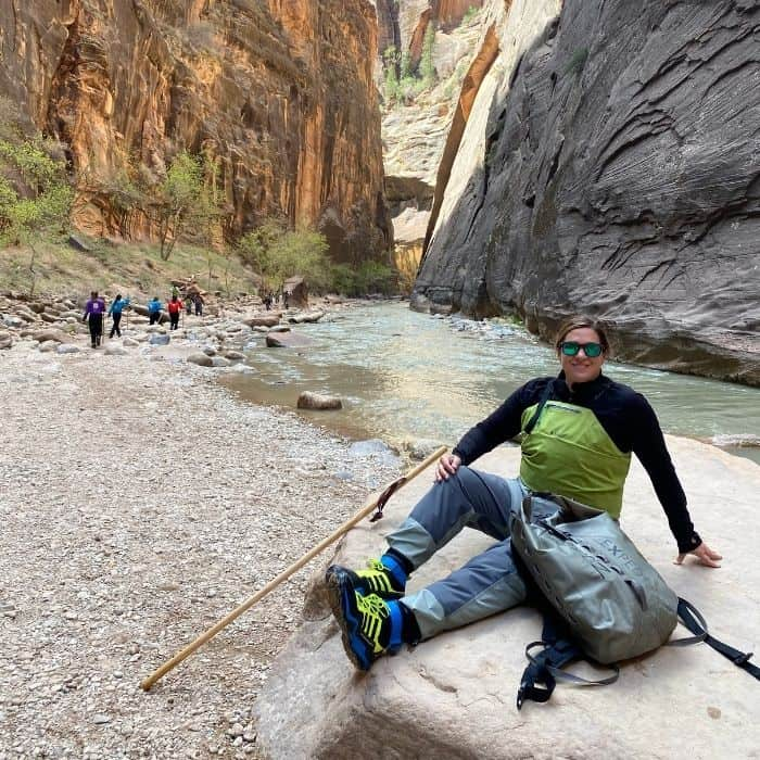 gear rentals from Zion Outfitters