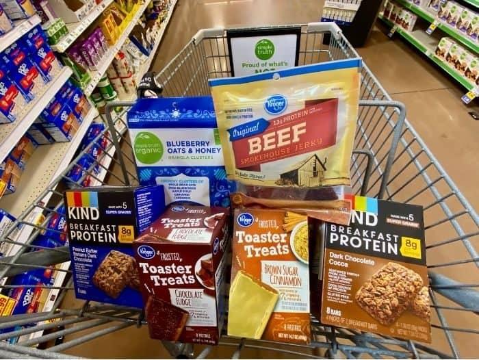 groceries at Kroger