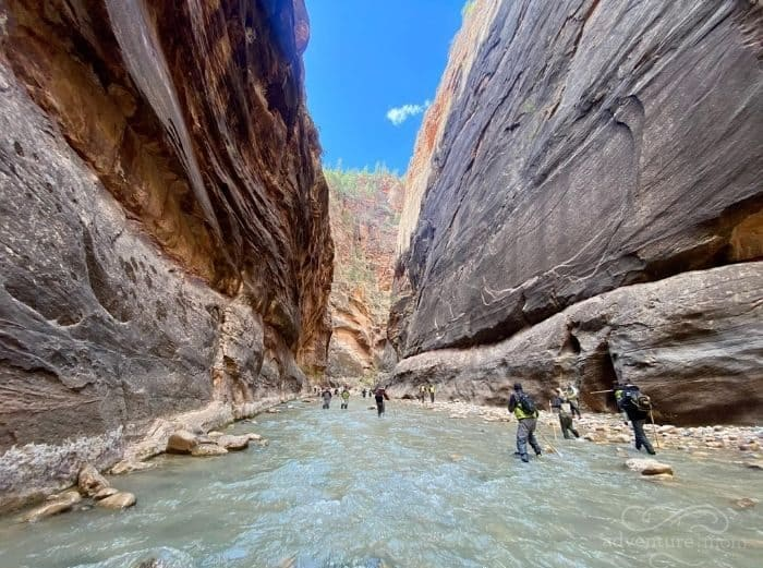 hike The Narrows at Zion National Park