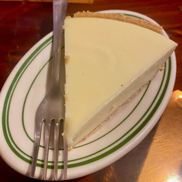 key lime pie at the Original Oyster House Gulf Shores
