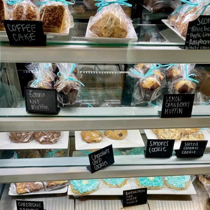 pastries at The Southern Grind at INDIGO