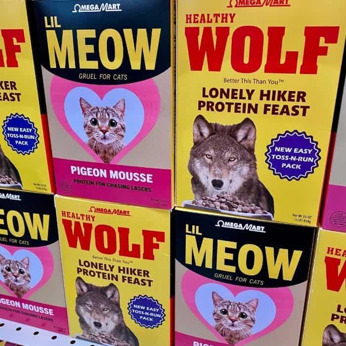 pet food at Omega Mart