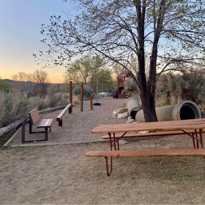 playground at Cannonville Bryce Canyon KOA