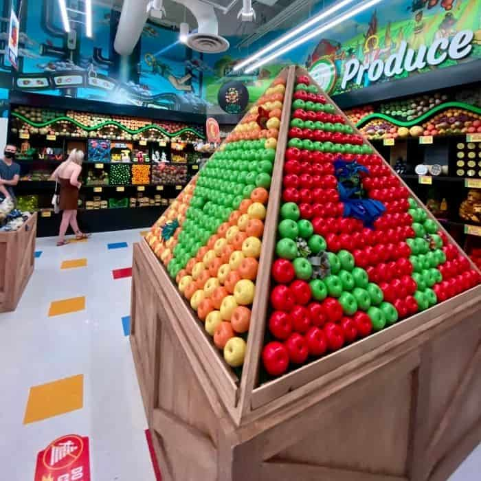 produce section Omega Mart Las Vegas