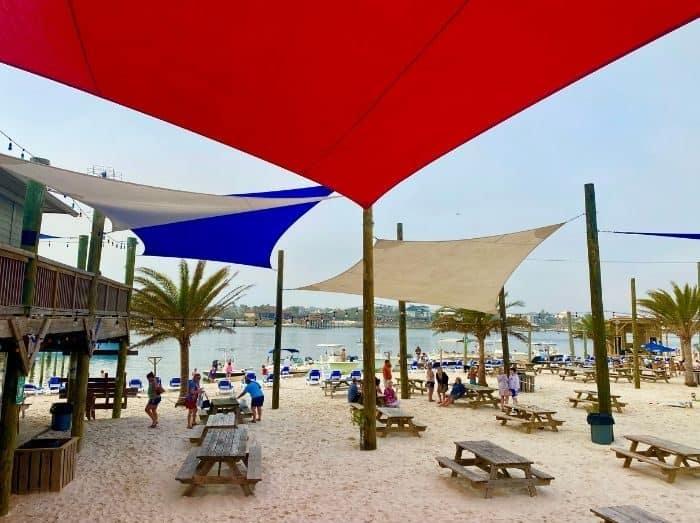 scenic views at Flora-Bama Yacht Club