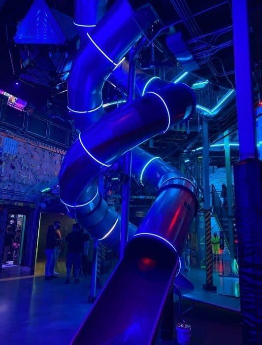 slides at Omega Mart Las Vegas