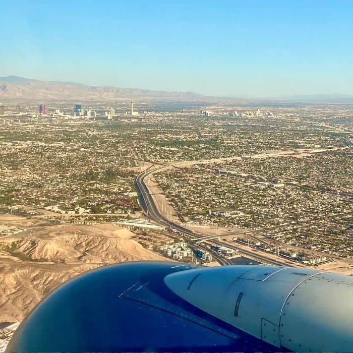 Fly to Las Vegas Nevada