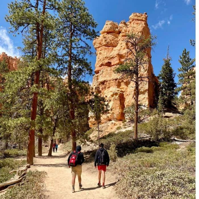 Hiking at Bryce Canyon National Park