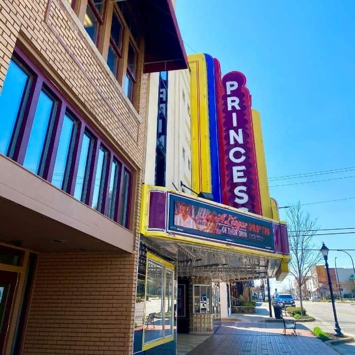 Princess Theater in Decatur Alabama