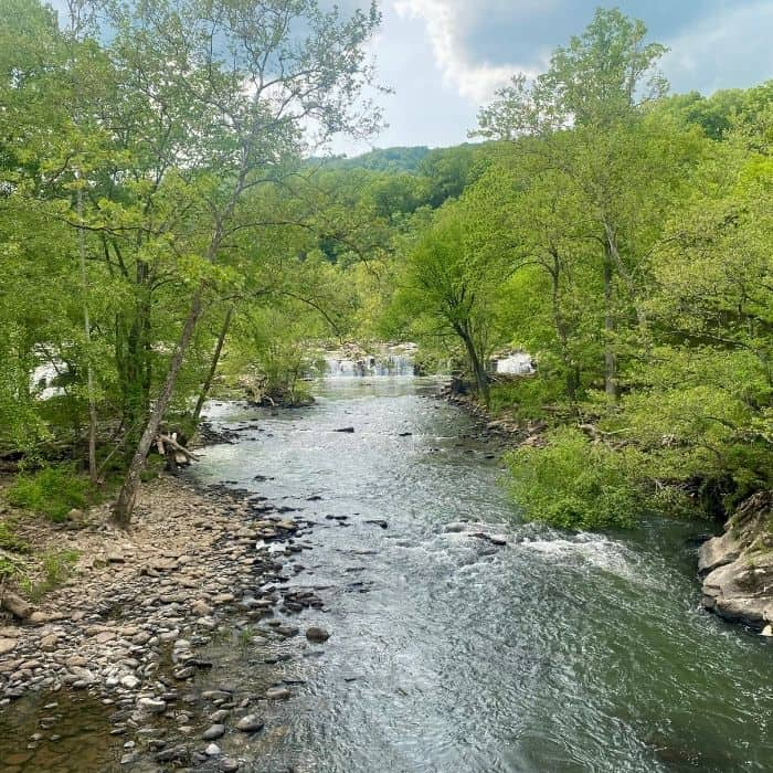 Sandstone Falls in West Virginia