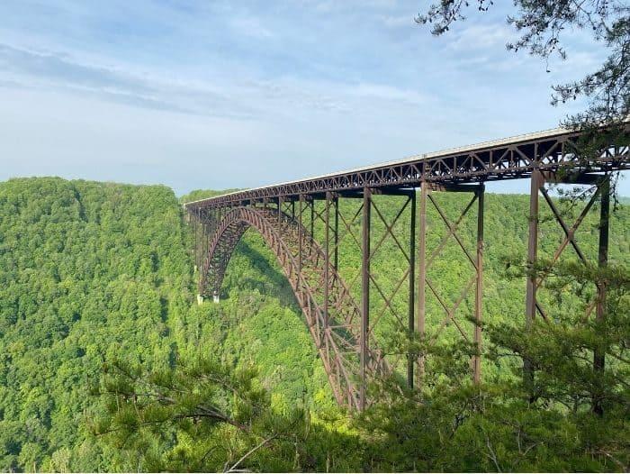 Scenic View -New River Gorge Bridge Walk- West Virginia