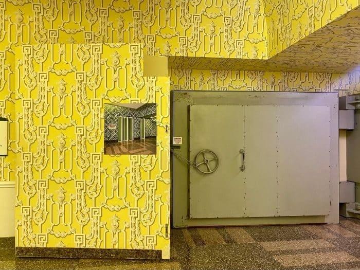 Tour of Former Top Secret Bunker at the Greenbriar Hotel