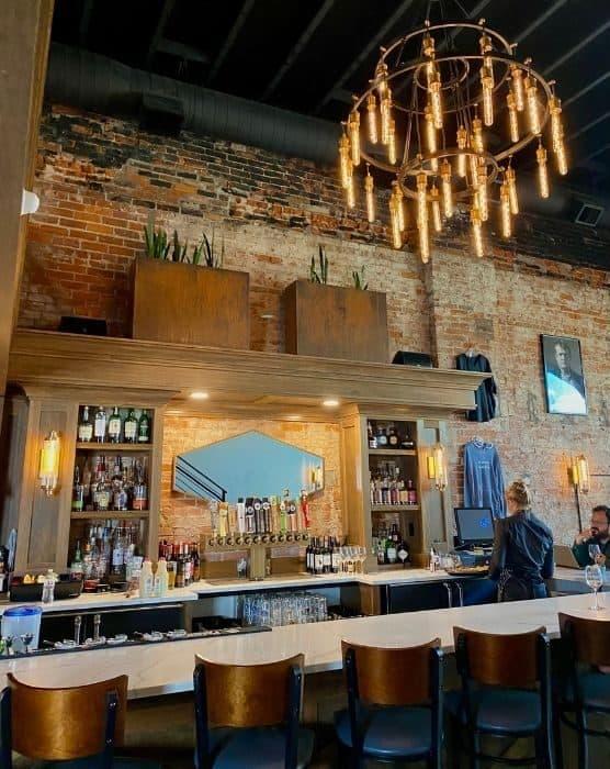 bar at Heist + Co. Harrison Ohio
