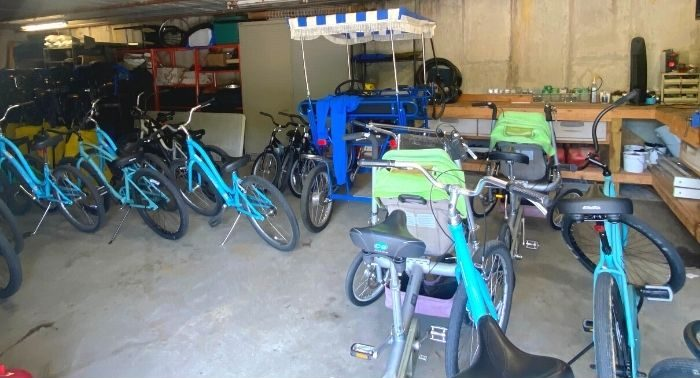 bike rentals at Miami Whitewater Forest