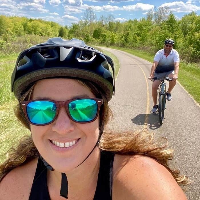 bike trails at Miami Whitewater Forest