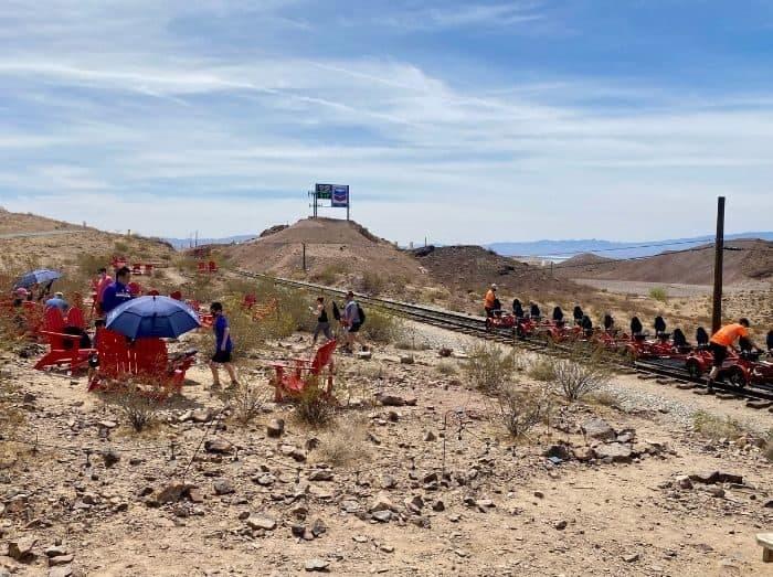 railbike tour with Rail Explorers in Nevada
