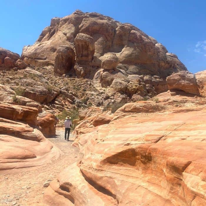 white domes hike at Valley of Fire State Park