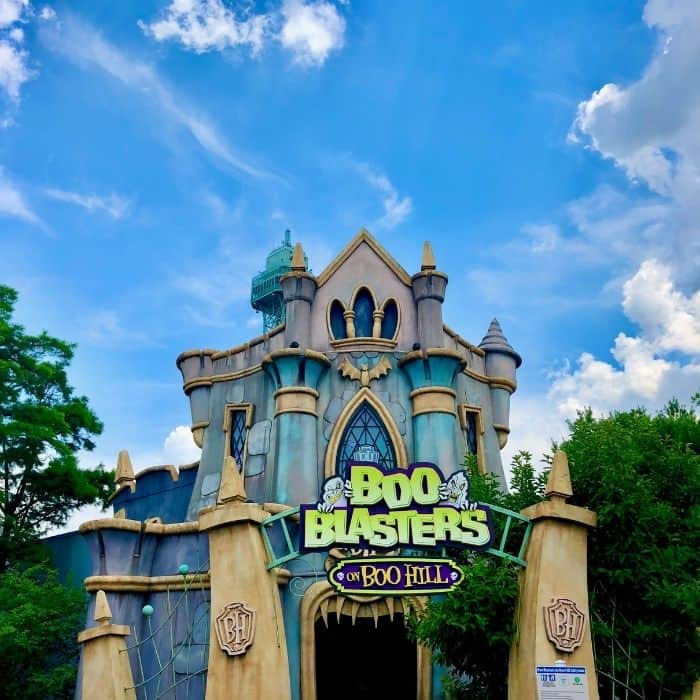 Boo Blasters on Boo Hill at Kings Island