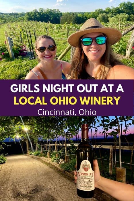 Girls Night Out at a Local Ohio Winery