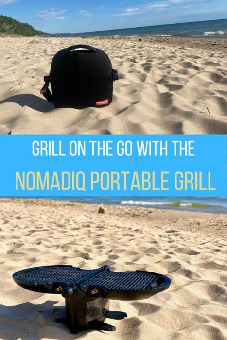Grill on the Go with the nomadiQ Portable Grill