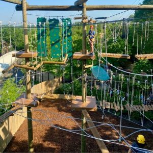 Kanga Klimb Aerial Adventure Course at Cincinnati Zoo