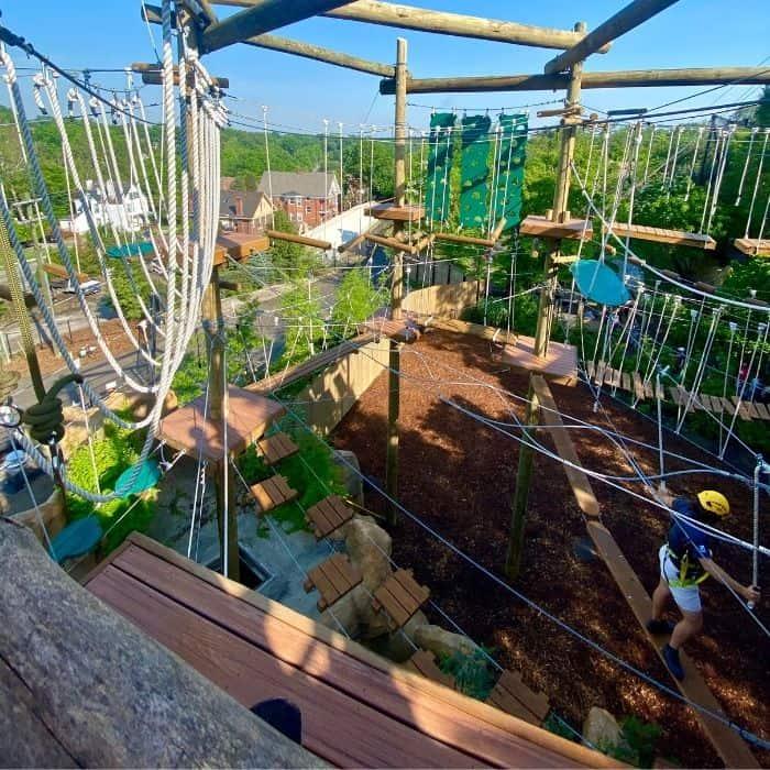 Kanga Klimb aerial adventure course