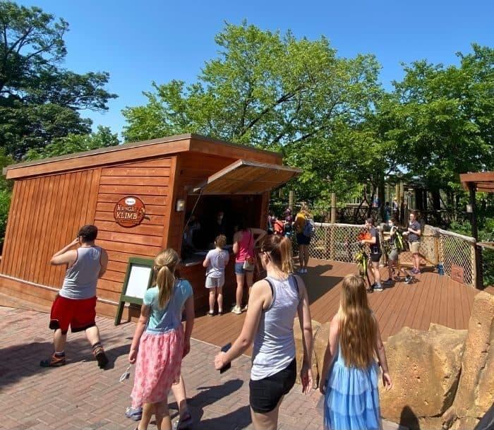 Kanga Klimb entrance at Cincinnati Zoo