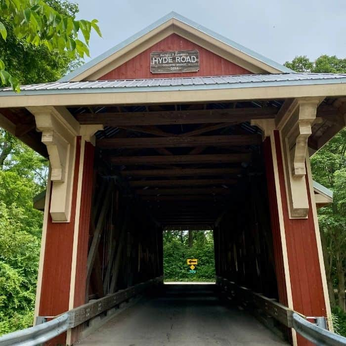 Richard P. Eastman Covered Bridge