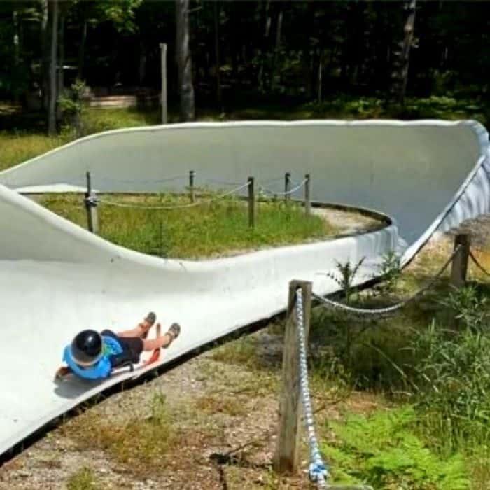summer luge track