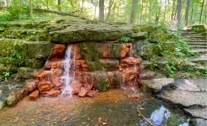 The Yellow Spring at Glen Helen Nature Preserve