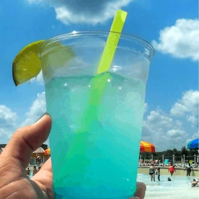 alcoholic drink at Soak City Waterpark