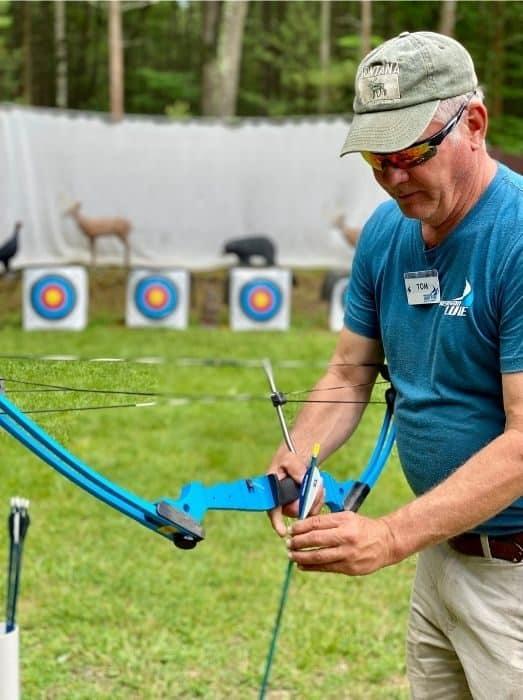 archery instructor Muskegon Luge instructor Muskegon Luge