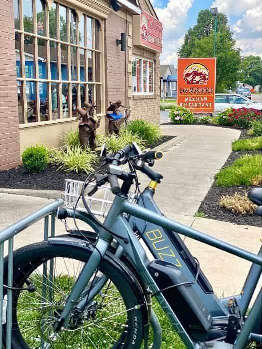 bike rack for Los Mariachis in Xenia Ohio
